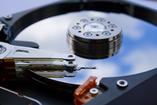 hard drive microcontamination