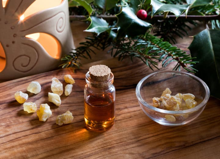 What's That Smell? The Chemistry Behind the Seasonal Scent of Frankincense